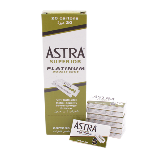Astra Superior Platinum Double Edge (106)
